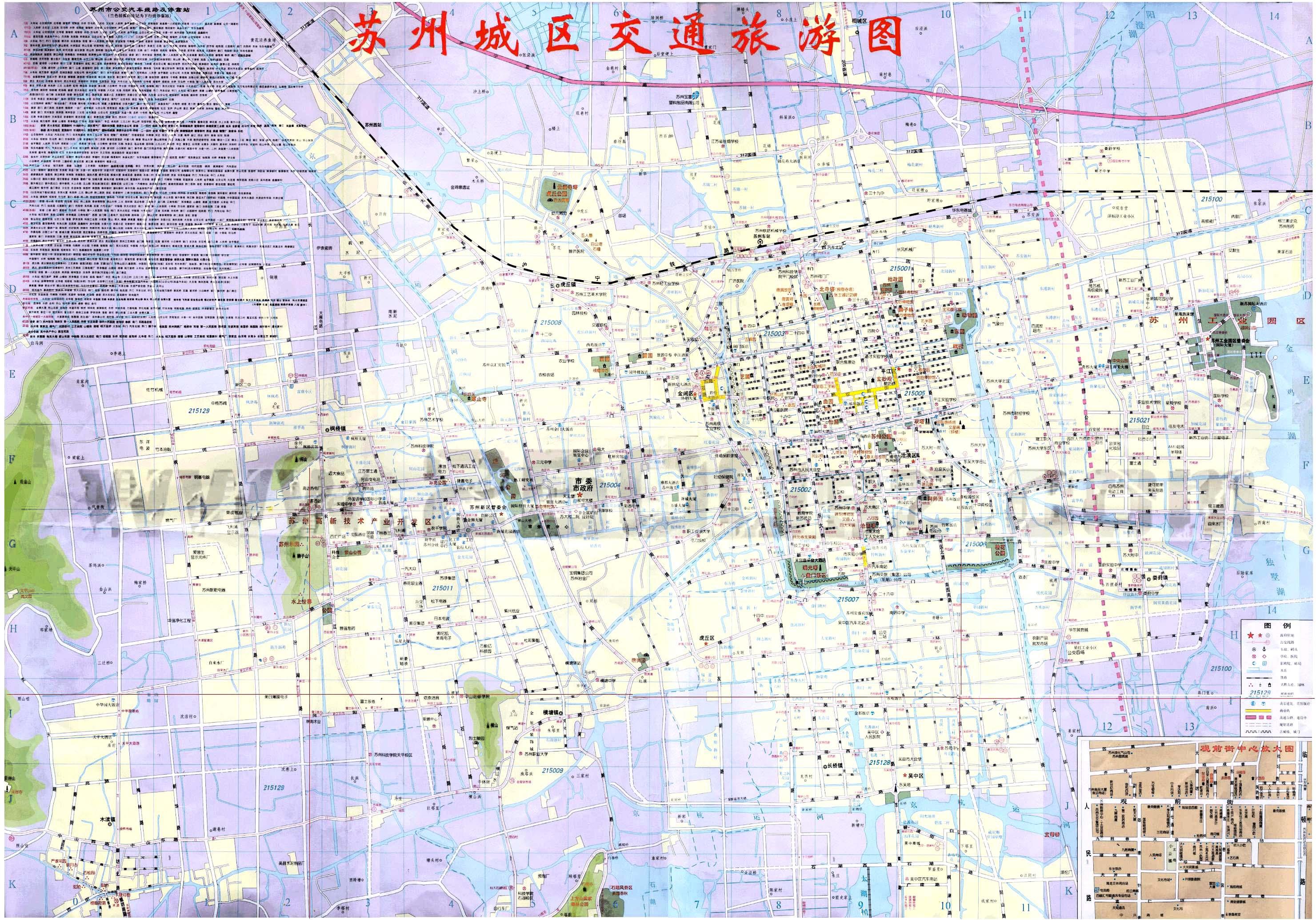 苏州城市地图
